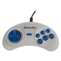 Джойстик Dendy 8-bit узкий разъем (серый)