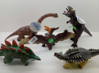 Динозавр в ассортименте (звук), высота до 20 см