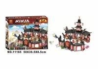 """Конструктор BELA Ninja 1112 дет. """"Храм Кружитцу"""""""