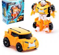Робот-трансформер «Автобот» (оранжевый)