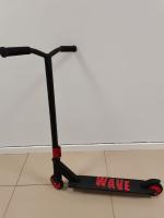 Трюковой самокат Explore WAVE Super черно-красный