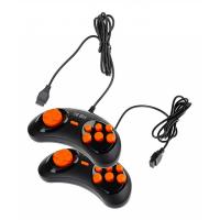 Джойстик Sega оранж. кнопки