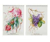 Блокнот для зарисовок А4, 20 листов, на гребне Sketchbook, блок акварель/бумвинил, 200 г/м2, жёсткая подложка