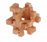 Головоломка деревянная мини № 1