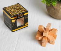 Головоломка деревянная мини № 4