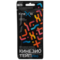 Кинезио-тейп Kinexib Pro, 5 см х 1 м, чёрный