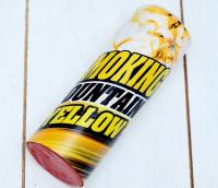 Цветной дым жёлтый, заряд 1,75 дюйма, МАКСИ, очень высокая интенсивность, 30 сек, 11,5 см