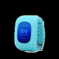 Детские часы с GPS Q50 (OLED) голубые