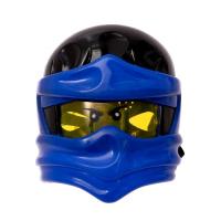 Маска «Ниндзя», световые эффекты, цвет синий