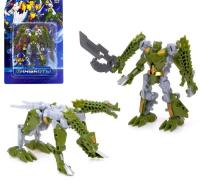 Робот-трансформер «Динобот» (зеленый), 5 видов, собирается в 1 робота