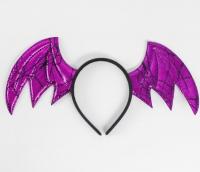Карнавальный ободок «Летучая мышь», цвета МИКС