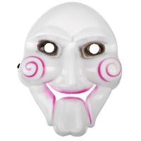 Карнавальная маска «Пила», цвет белый