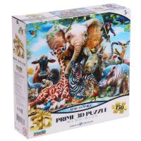 3D Пазл 150 элементов «Улыбка Африки», 5+