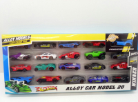 Машинки HW, Alloy Car 20 шт. в наборе