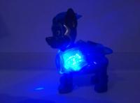 Могучие щенки-спасатели со значком, синий