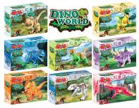 Конструктор УG Dino World Динозавры (8 видов)