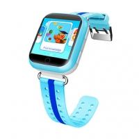 Детские часы с GPS Q100 (GW200s) сенсор голубые