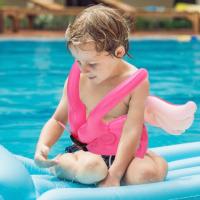 Детские часы с GPS Q50 (OLED) розовые
