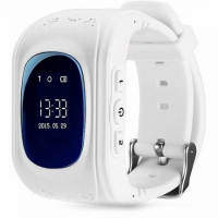Детские часы с GPS Q50 (OLED) белые