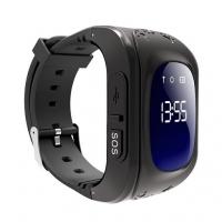 Детские часы с GPS Q50 (OLED) чёрные
