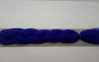 Косы канекалон одноцветные (т.синий)