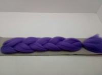 Косы канекалон одноцветные (т.фиолетовый)