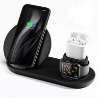 Беспроводная зарядка 3в1 (Док-станция для Iphone, Airpods)