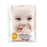 Успокаивающая тканевая маска Baby Skin для лица с эффектом лифтинга Bioaqua
