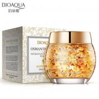 Питательная маска для лица с лепестками золотого османтуса Bioaqua