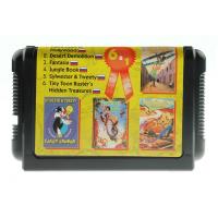 Картридж Sega 6in1 (TToon+DStrek+...) (рус)SK