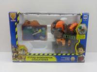Щенки-инженеры с голографической картинкой, оранжевый