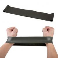 Резинка для фитнеса: черная, 21-25 кг