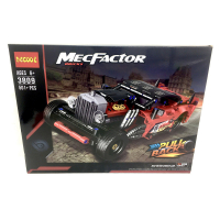 """Конструктор Decool MecFactor Bricks 501 дет. """"Автомобиль"""" (красный)"""