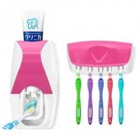 Дозатор для зубной пасты с держателем для щёток Jinxin-300