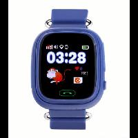 Детские умные часы Q90 (G72) сенсор синие
