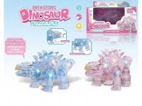 Динозавр - стегозавр (длина 18 см)