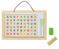 Набор 2 в 1: Доска для рисования и алфавит
