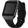 Умные Часы DZ09 с Bluetooth c шагомером, SIM, камера (черные)
