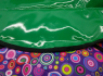 Тюбинг-ватрушка Оксфорд-ПВХ фиолет. 110 см (драже)