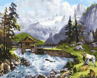 Картины по номерам 40х50 Гармония с природой
