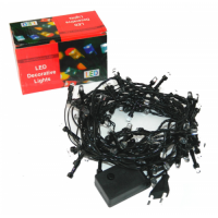 Гирлянда 140 ламп черные провода