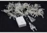 Гирлянда шторка теплый белый цвет (320 ламп)