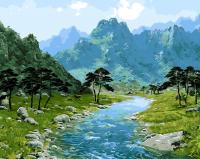 Картины по номерам 40х50 Горы Китая