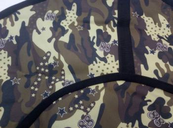 Тюбинг-ватрушка Оксфорд-ПВХ хаки 80 см