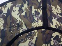 Тюбинг-ватрушка Оксфорд-ПВХ хаки 120 см