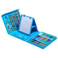 Художественный набор 208 деталей, голубой