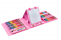 Художественный набор 208 деталей, розовый