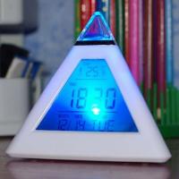 """Светящиеся часы-будильник """"Пирамида"""""""