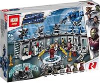 """Конструктор Lepin 587 дет. """"Лаборатория Железного человека"""""""