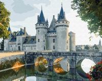 Картины по номерам 40х50 Каменный замок